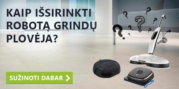 robotai grindų plovėjai